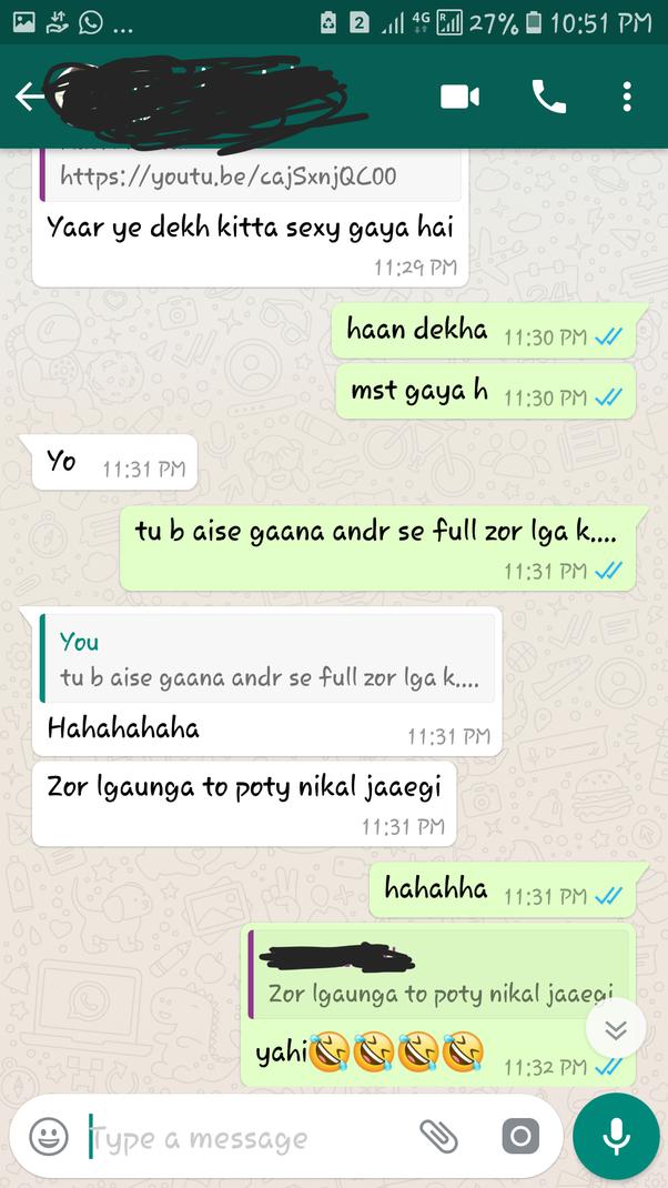 Whatsapp chat sex WhatsApp porn