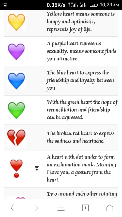 what does red love mean