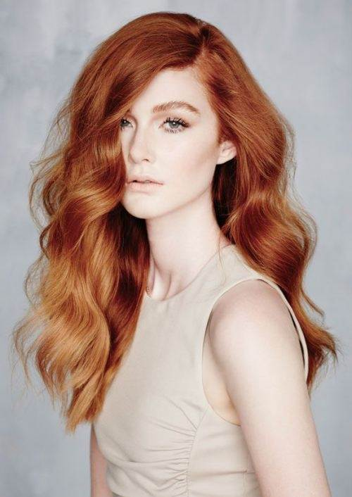 What colour should a ginger hair girl dip dye her hair in a natural ...