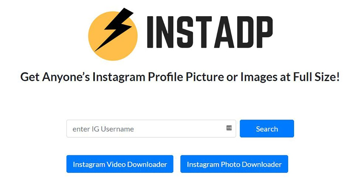 see instagram profile picture full size