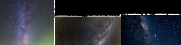 Why do we see the Milky Way vertically? - Quora