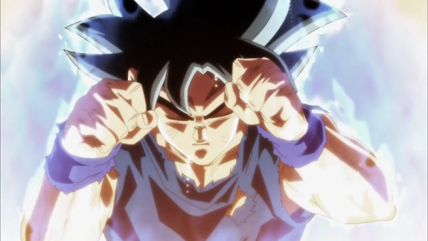 Has Goku S Base Form Powered Up At All From The Mui Transformation Quora
