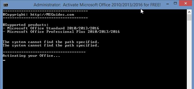 microsoft office professional plus 2010 activator.exe