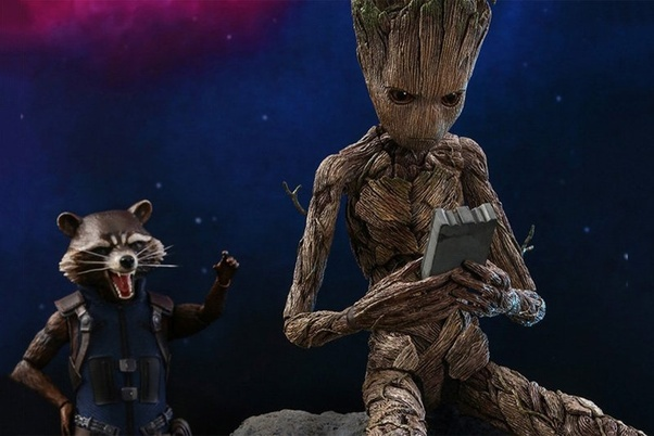 Because Groot comes back alive after everytime he dies, can