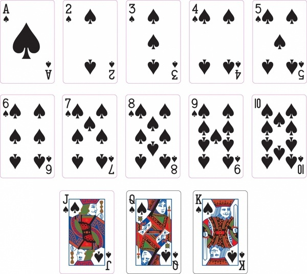 spade card number  How many spades are in 6 cards? - Quora
