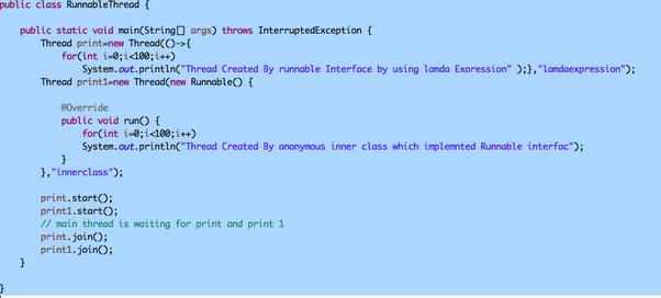 What is a Runnable interface in Java? - Quora