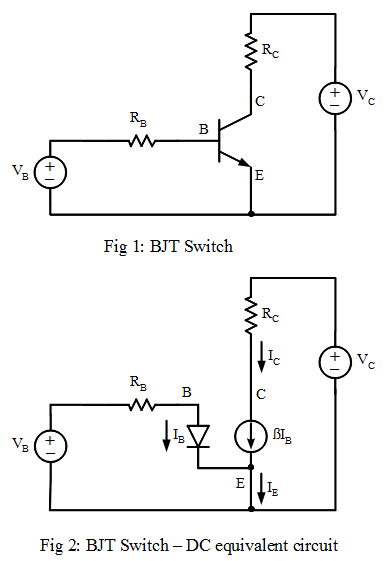 how to draw transistor circuits at cut off