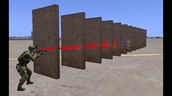 arma bullet physics