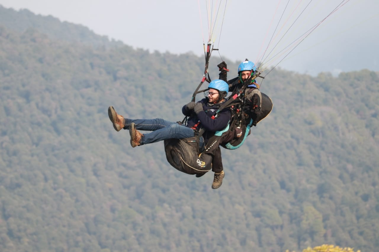 What are the best months for paragliding in India? - Quora