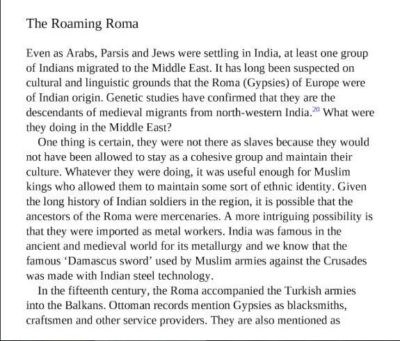 What's the history of Roma (Gypsies)? - Quora