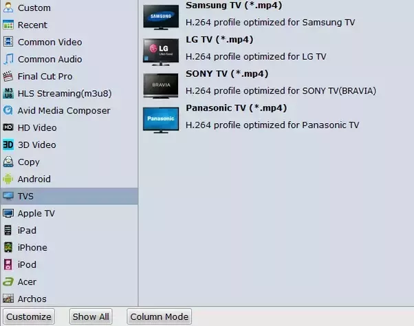 How to convert video to tv format quora i suggest you use brorsoft video converter ultimate windows mac to convert any video to tv format effortlessly ccuart Images