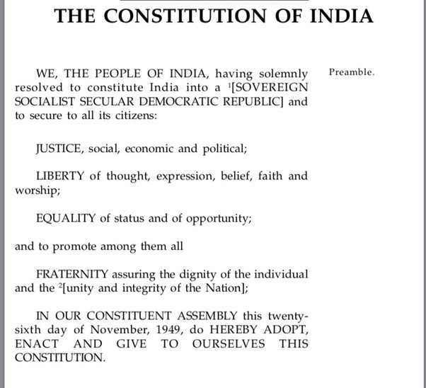 constitution of india written by