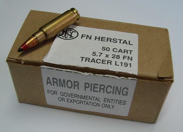 Fn 57 penetrate kevlar