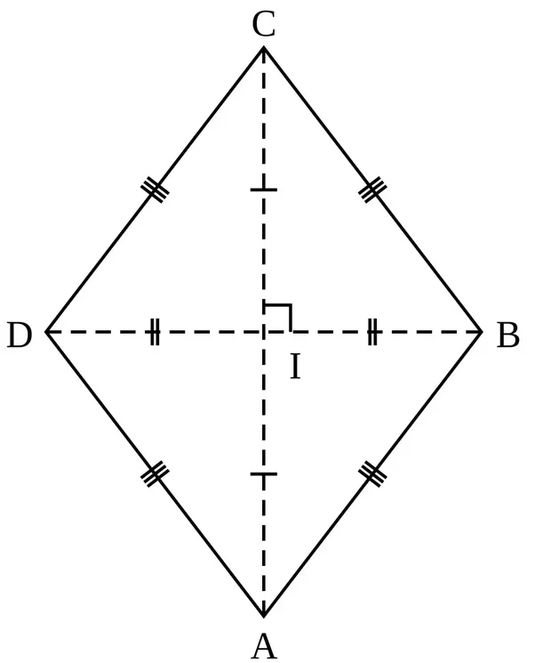 If You Know The Length Of Both Of The Diagonals, You Can Calculate The  Measures Of The Interior Angles.