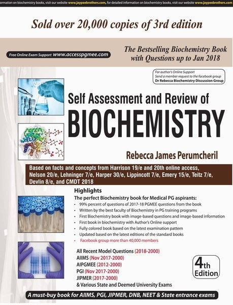 Which are the best MCQ books for biochemistry for an MBBS
