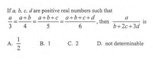 What is the answer to this question on maths? - Quora