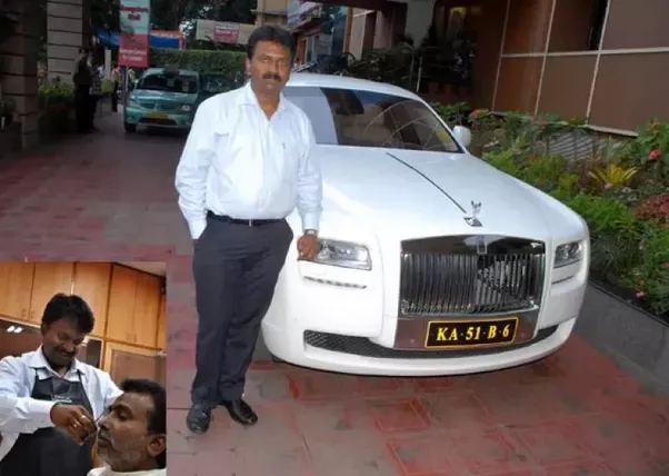 Did you know the barber who owns a Rolls royce? - Quora