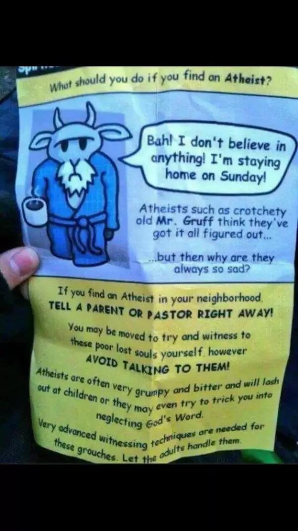 Polite atheist dating
