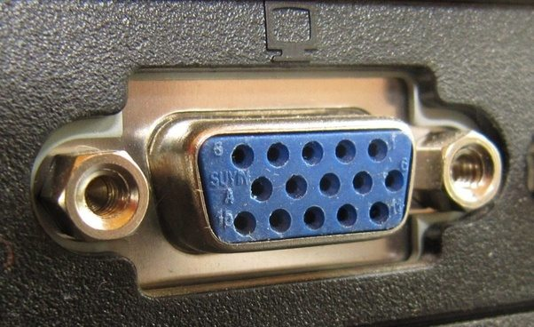 What Does A Vga Port Look Like On A Laptop Quora