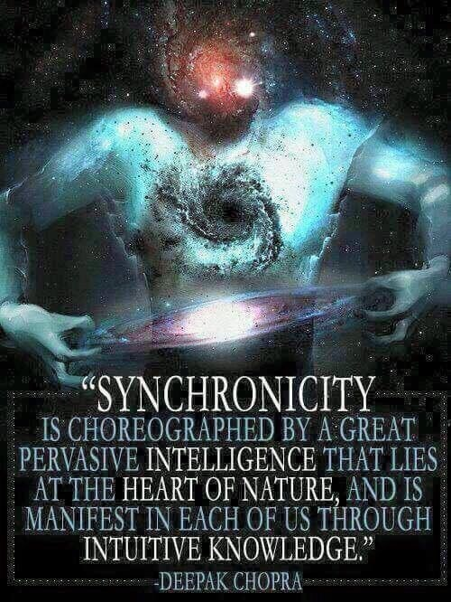 What are some synchronicities you experienced during your