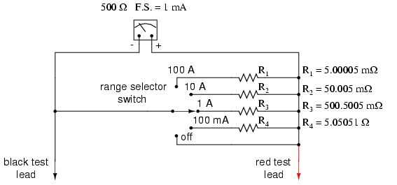 if an ammeter is connected to a circuit like shown in the figure rh quora com Tractor Amp Meter Wiring Diagram Digital Amp Meter Wiring Diagram
