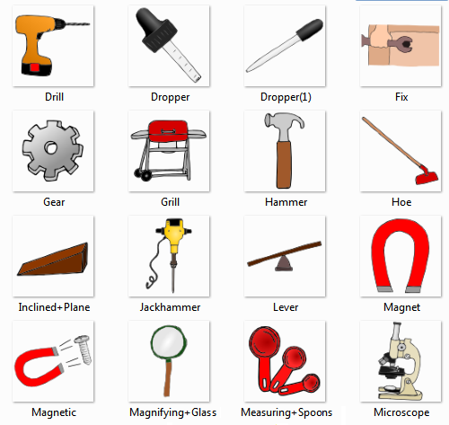 Tools Names More Information