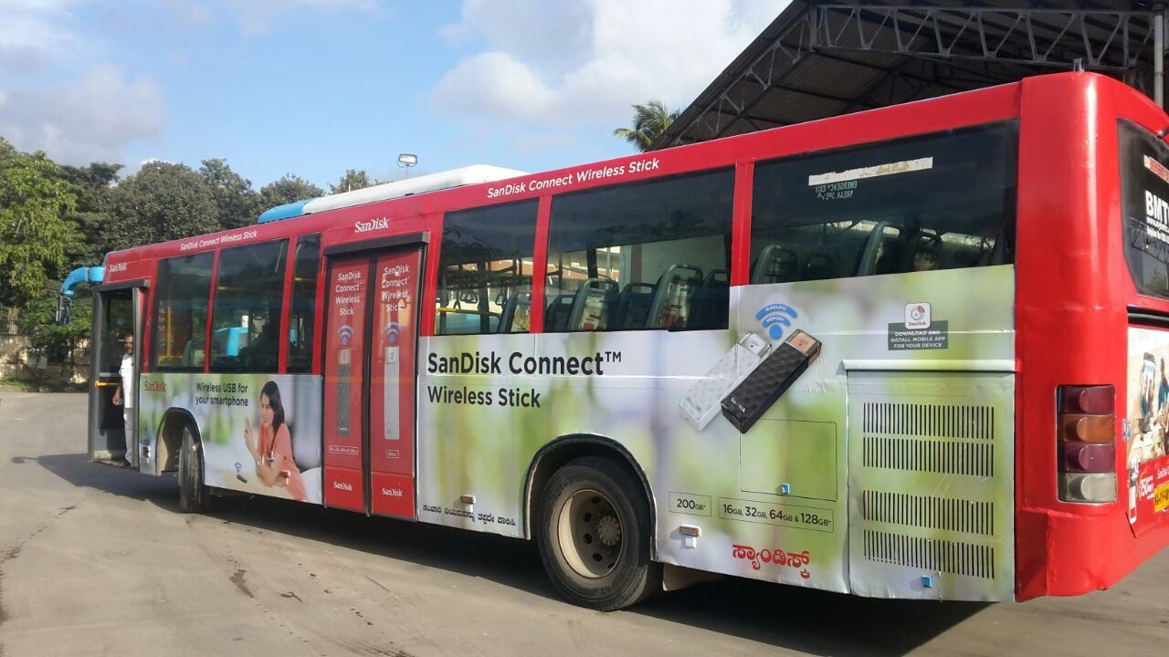 How Much Does It Cost To Advertise In Volvo Ac Buses Of Bangalore