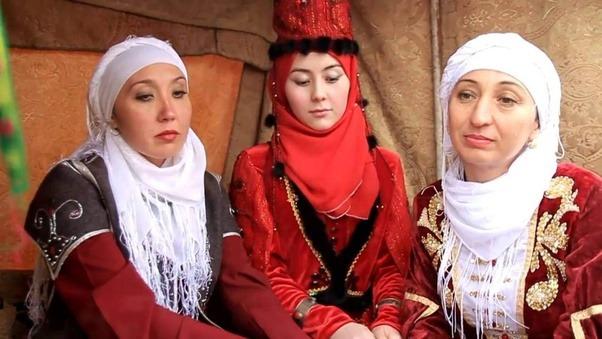 Kazakhstan muslim women
