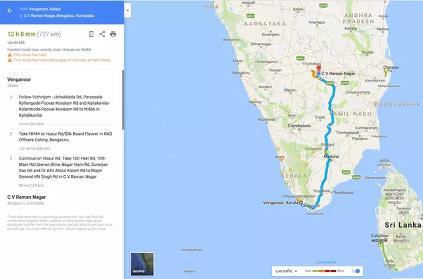What Is The Longest Distance You Have Ever Driven Nonstop Taking - Map my vacation route