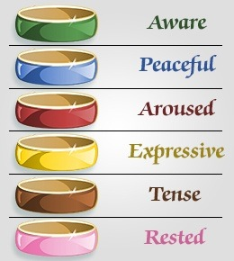 What do all the mood ring colors mean? - Quora