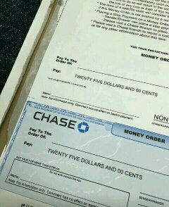 what is the correct way of filling out a chase money order quora