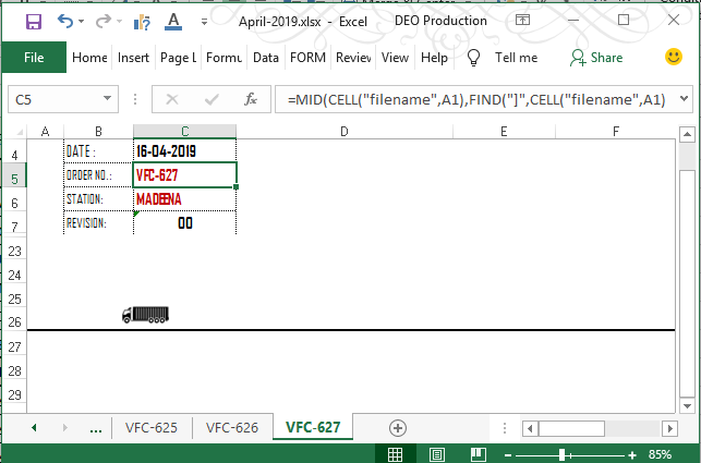 How to print tab / sheet name in Excel cell - Quora