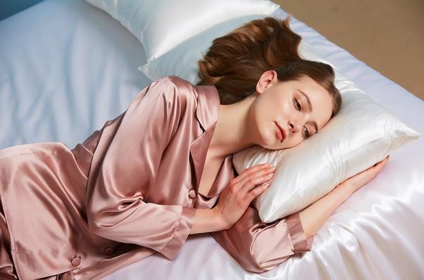 sleep in silk