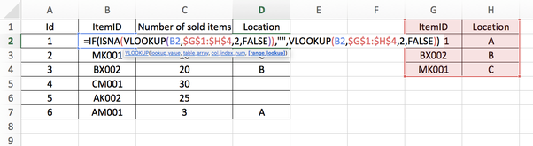 How to use the IF and VLOOKUP functions together in Excel