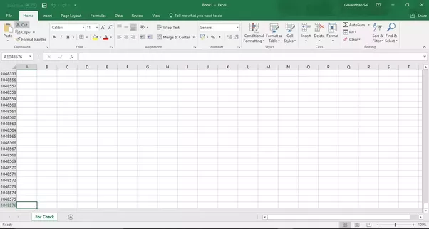 how to make two columns in excel from one