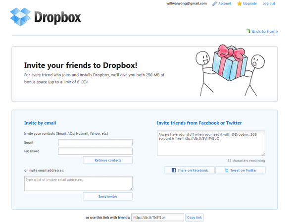 What are the best examples of social referral programs quora example of integrating referral into new customer on boarding altavistaventures Images