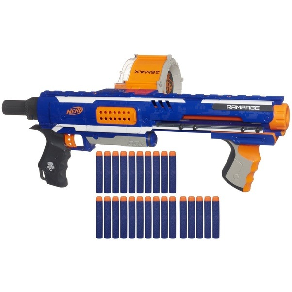 The Rampage has what Nerf calls