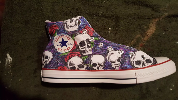 Can you paint shoes with acrylic paint? - Quora