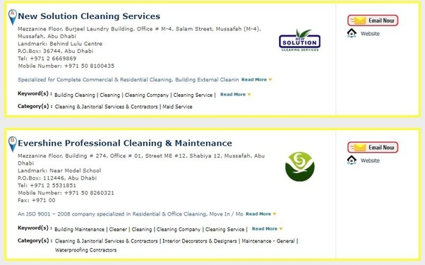 Which is the top office cleaning company in Dubai? - Quora