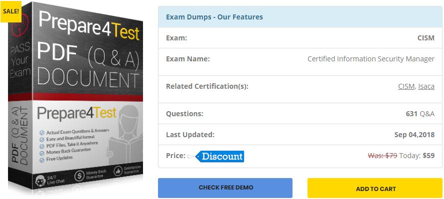 Cism Study Guide Pdf