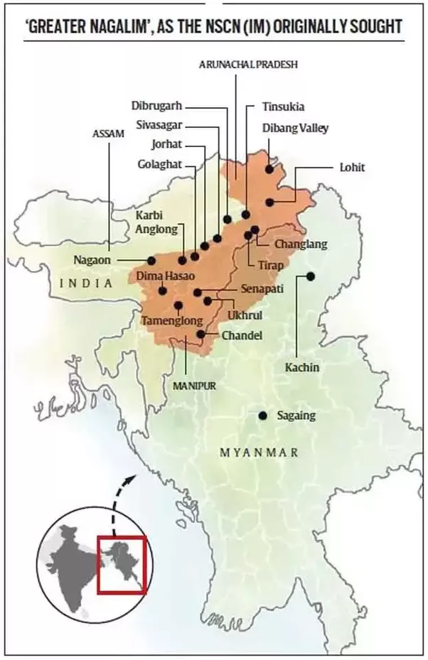 What Is The Nagaland Issue Quora