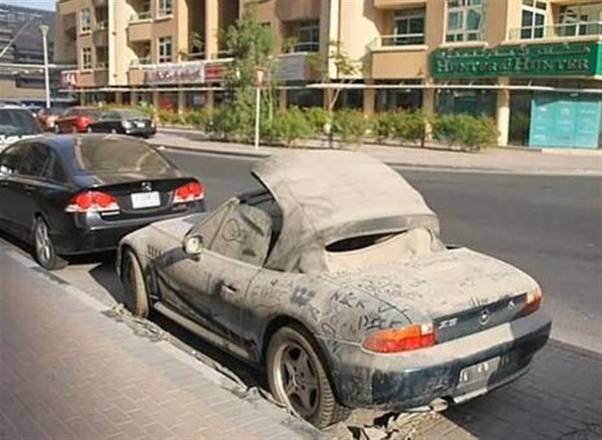 Are You Free To Take Abandoned Cars In Dubai Quora