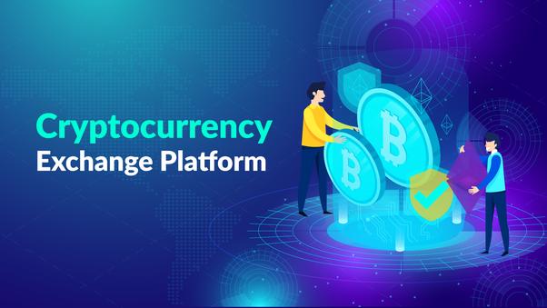 a cryptocurrency exchange elindítása