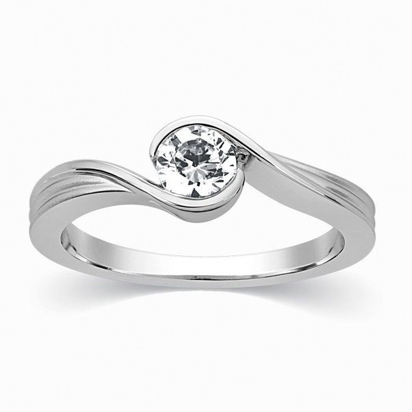 What is the best engagement ring i can get for 1000 quora solitaire engagement rings by jewelove junglespirit Gallery