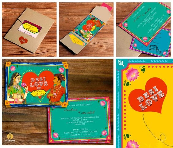 What Are Some Of The Most Creative Indian Wedding Cards