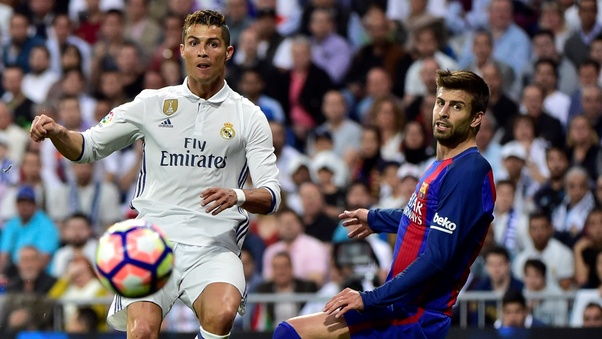 What are the statistics between Messi and Ronaldo in El ...