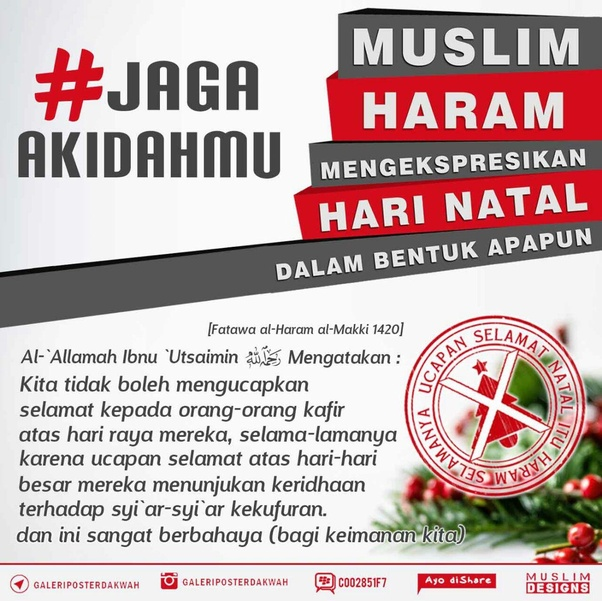 Sebagai Non Muslim Apakah Kalian Boleh Mengucapkan Selamat Idul