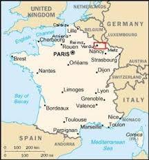 Where Is Verdun Located In France How Do I Get There Quora - Where is france located