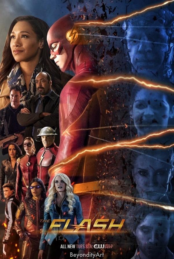 The Flash Burning Series 4