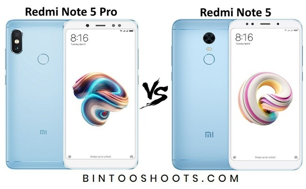 What Is The Major Difference Between Redmi Note 5 And Redmi Note 5